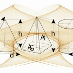 【空間図形】回転体の見取り図を上手に描く簡単作図テクニック